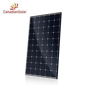Canadian Solar CS6K-300MS 300W Mono Quintech BLK/WHT Solar Panel 5BB
